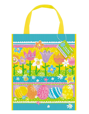 LOOT BAG WITH HANGLE - EASTER SPRING EGG DESIGN