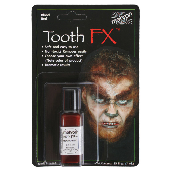 MEHRON LIQUID TOOTH FX BLOOD RED - 7ML