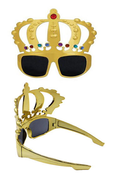 THE KING GOLD GLASSES