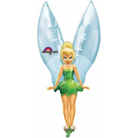 FOIL SUPER SHAPE BALLOON - DISNEY TINKERBELL FAIRY ULTRA SHAPE