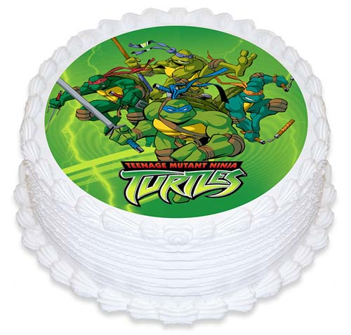 Cake Decorating Icing Nz : Teenage Mutant Ninja Turtle - Edible Icing Cake Topper ...