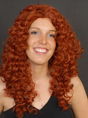 WIG - LONG WAVY RED ANNE MARGARET/SHOWGIRL STYLE