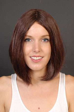 LONGER BOB WIG - BROWN