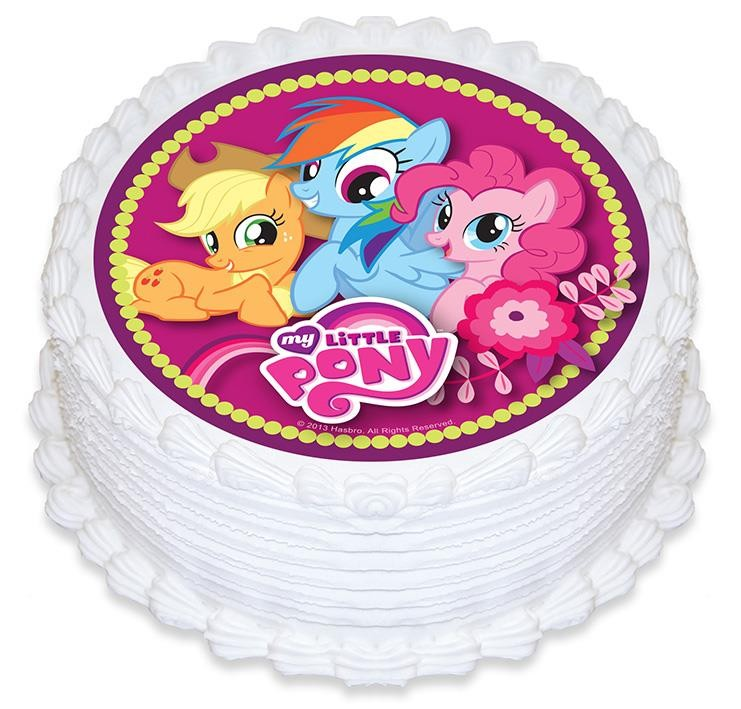 MY LITTLE PONY - EDIBLE ICING CAKE TOP