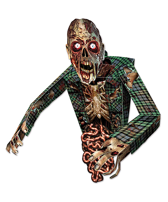 ZOMBIE 3D WALL DECORATION