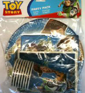 TOY STORY 3 PARTY PACK