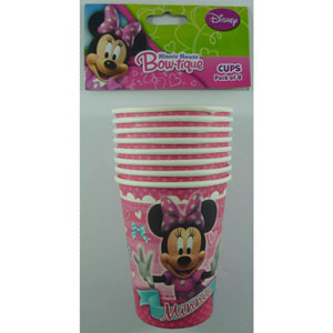 MINNIE MOUSE CUPS SET OF 8