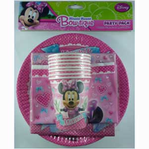 MINNIE MOUSE PARTY PACK OF 40