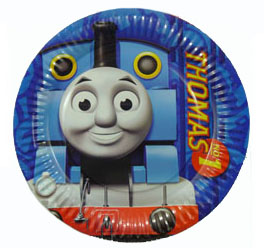THOMAS THE TANK PLATES PACK 8