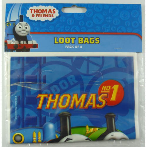 THOMAS THE TANK LOOT BAGS PACK OF 8