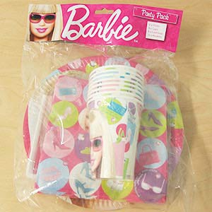BARBIE PARTY PACK OF 40