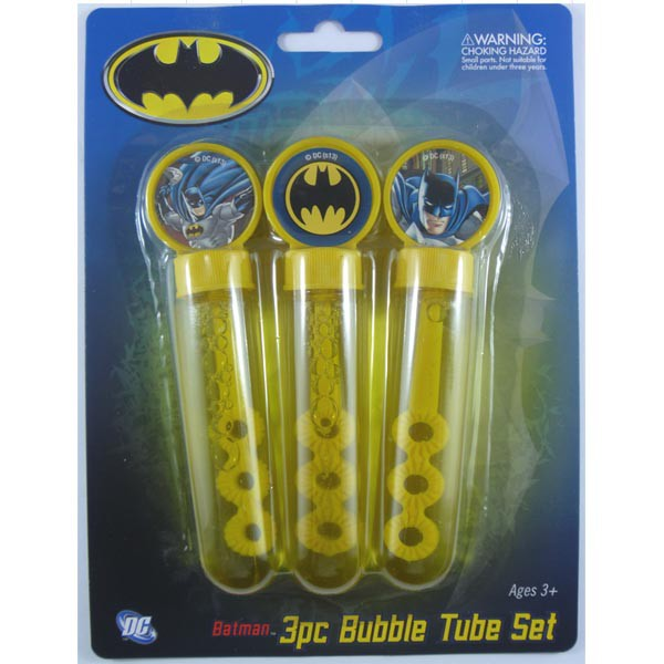 BATMAN BUBBLE SET OF 3