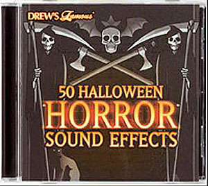 HORROR SOUNDS CD- 60 MINUTES