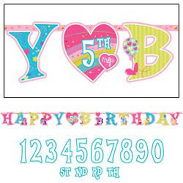 MY LITTLE PONY ADD AN AGE PARTY BANNER