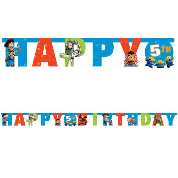 TOY STORY GIANT CUSTOMISABLE LETTER BANNER