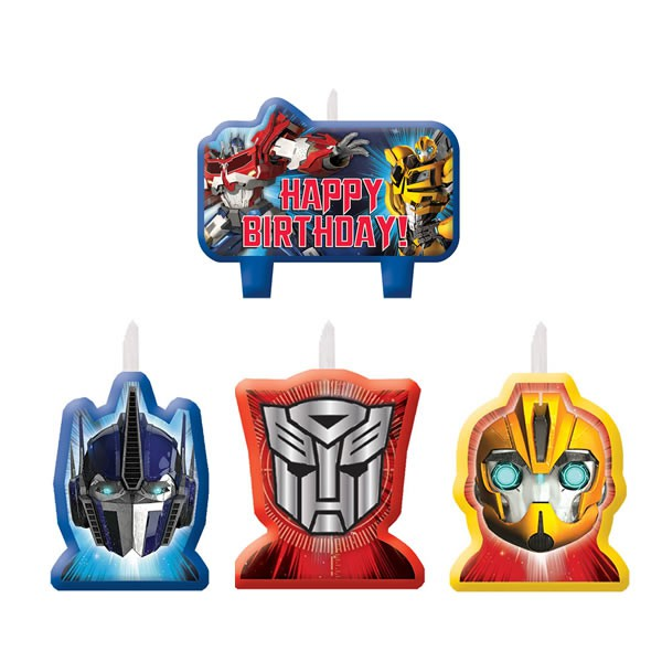 TRANSFORMERS - CANDLE SET PACK OF 4