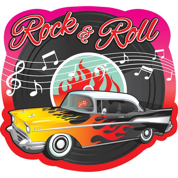 ROCK N' ROLL CLASSIC 1950'S CUTOUT