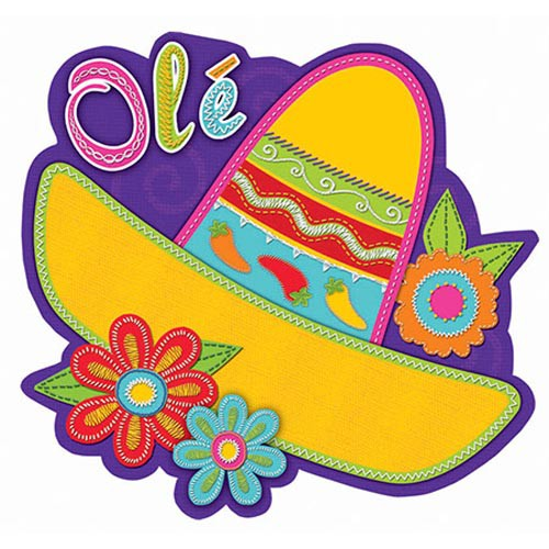 FIESTA SOMBRERO CUTOUT - PACK OF 1