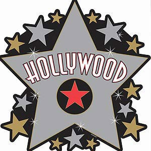HOLLYWOOD STAR CUT OUT