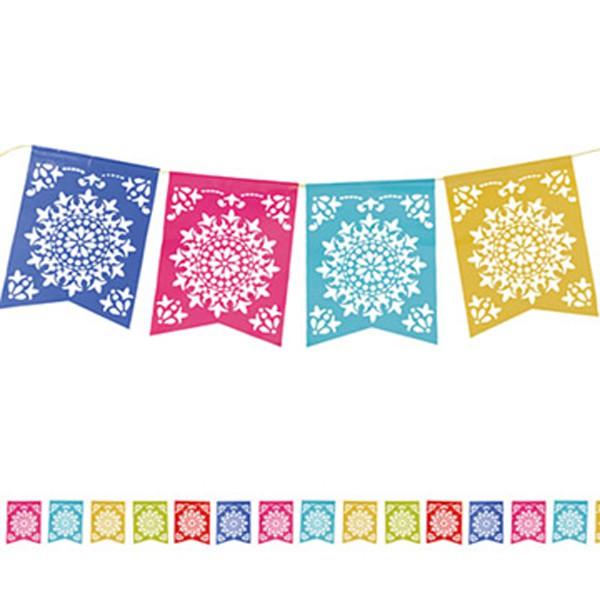 fiesta del sol paper flag banner party supplies online