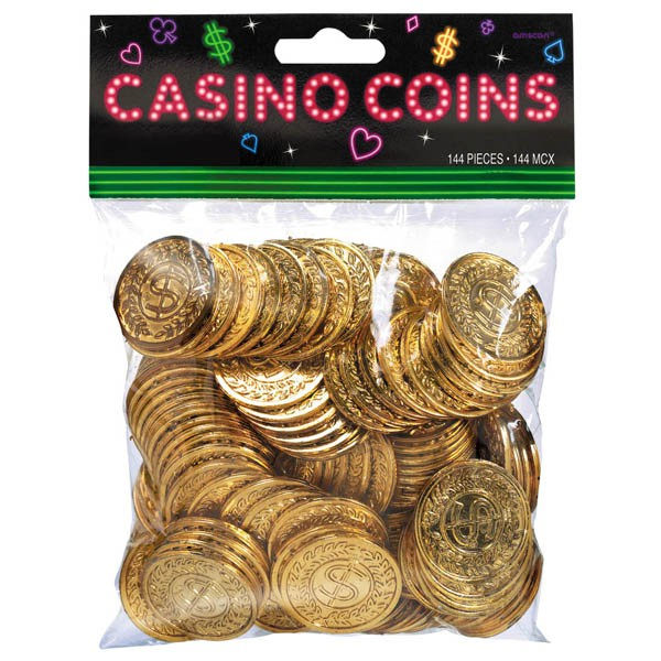 CASINO COINS - PACK OF 144