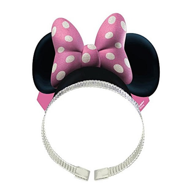 MINNIE MOUSE EARS HEADBANDS - PACK OF 8
