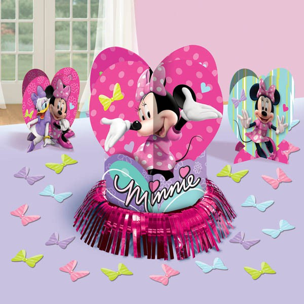 MINNIE MOUSE TABLE DECORATING KIT