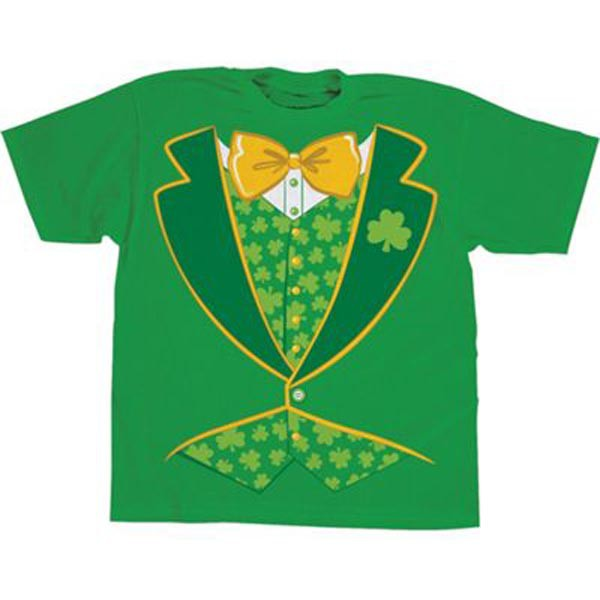 ST PATRICK'S DAY MENS FANCY DRESS T-SHIRT