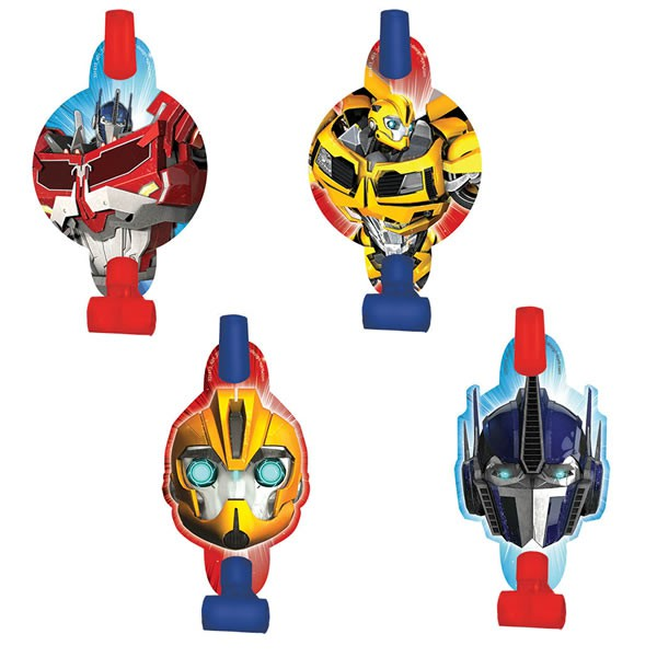 TRANSFORMERS - BLOWOUTS PACK OF 8