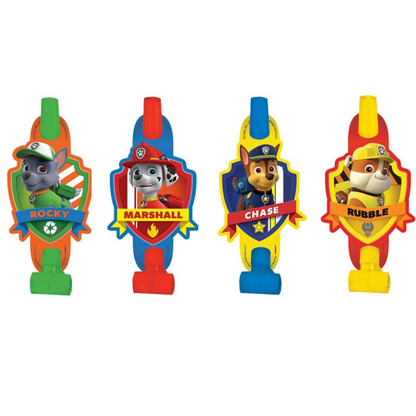 PAW PATROL BLOW OUTS - PACK OF 8