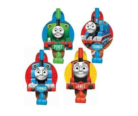 THOMAS THE TANK PARTY BLOWOUTS PACK 8
