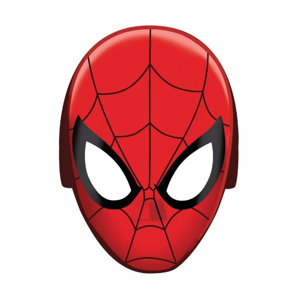 SPIDERMAN MASKS - PACK OF 8