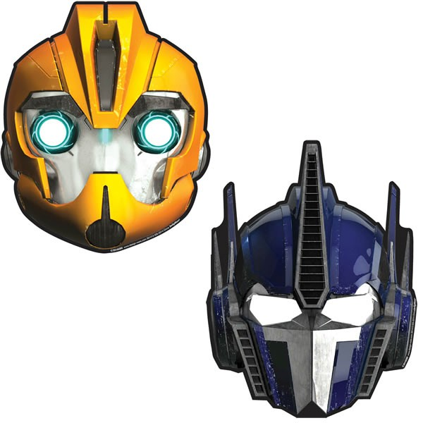 TRANSFORMERS - MASKS PACK OF 8