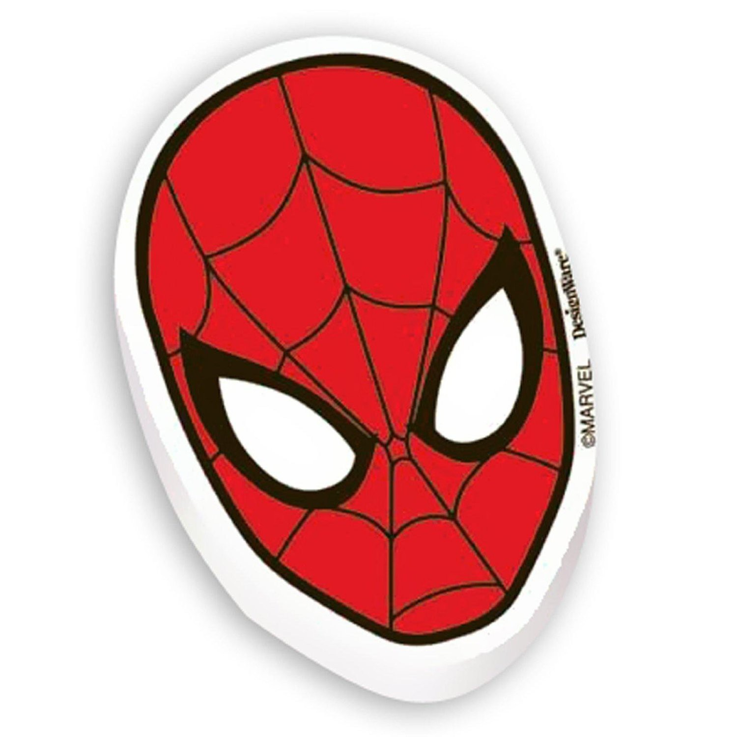 SPIDERMAN MINI ERASERS PARTY FAVOUR - PACK OF 12