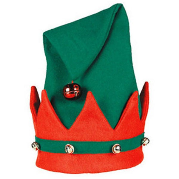 ELF HAT DELUXE WITH BELLS
