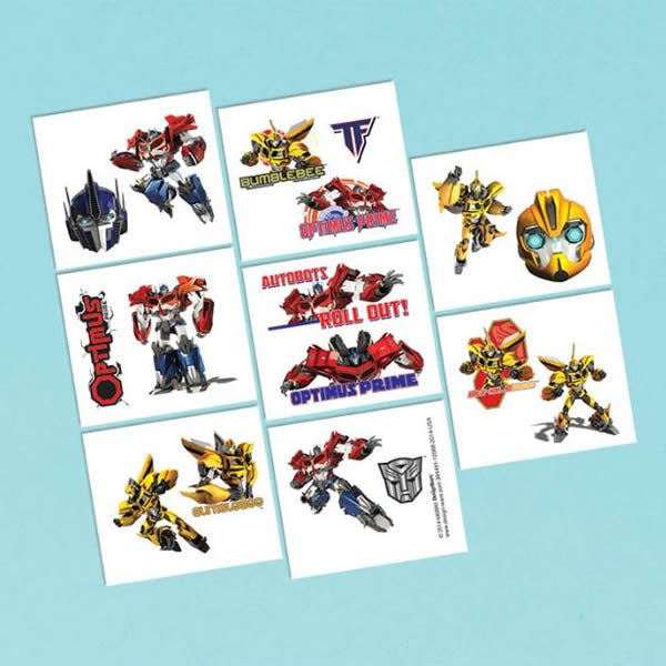 TRANSFORMERS - TATTOOS PACK OF 16