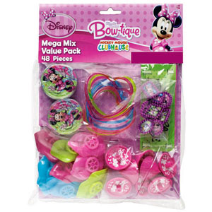 PARTY FAVOURS - MINNIE MOUSE GIANT PACK OF 48