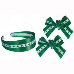 ST PATRICK'S DAY HAIR ACCESSORY SET