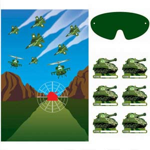 CAMOUFLAGE ARMY PARTY GAME