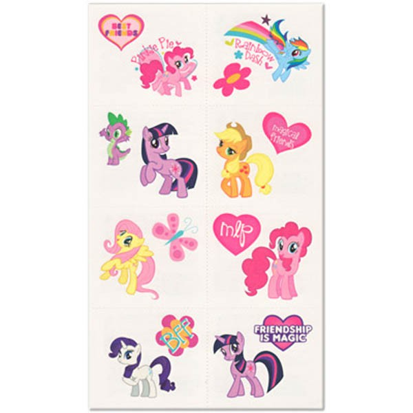 MY LITTLE PONY TATTOOS - PACK 16