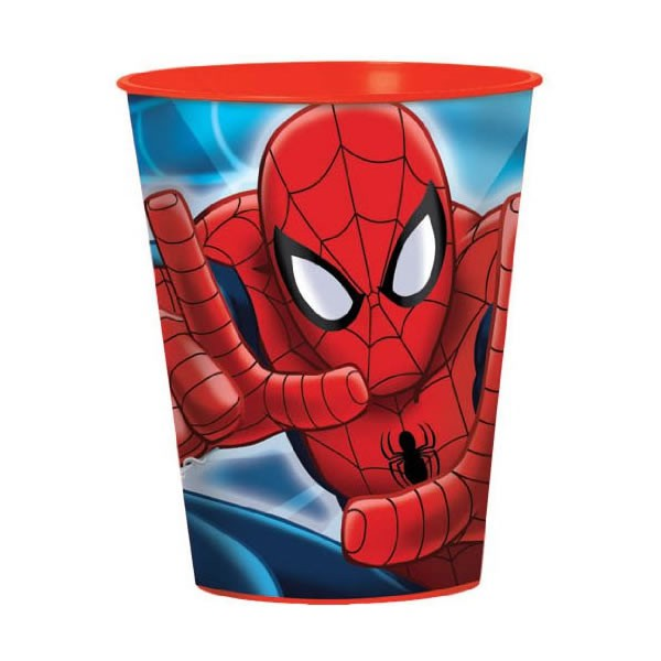 SPIDERMAN PARTY FAVOUR PLASTIC CUP