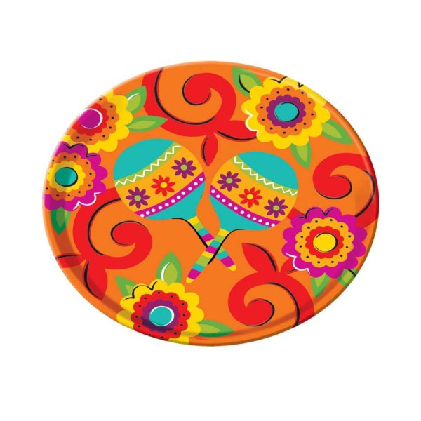 MEXICAN FIESTA PARTY TRAY - ROUND