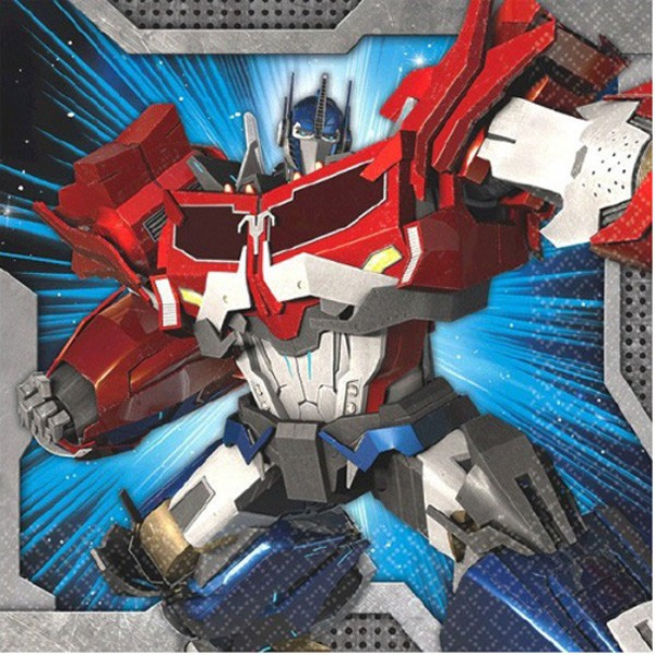 TRANSFORMERS - COCKTAIL NAPKINS PACK OF 16