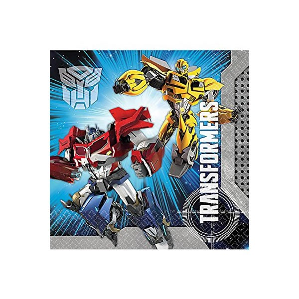 TRANSFORMERS - LUNCH NAPKINS PACK OF 16