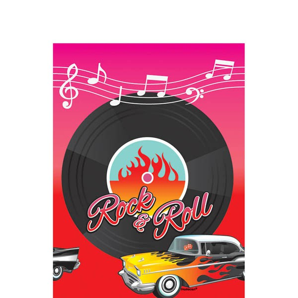 ROCK N\' ROLL TABLE COVER
