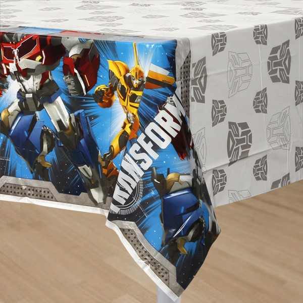 TRANSFORMERS - TABLE COVER PLASTIC
