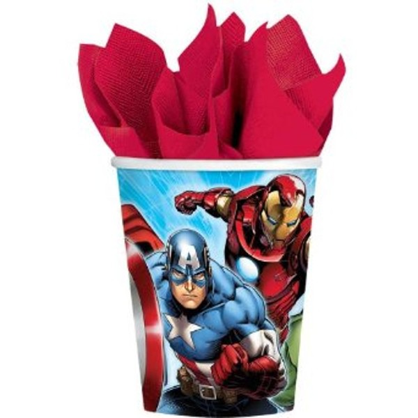 AVENGERS PARTY CUPS - PACK OF 8
