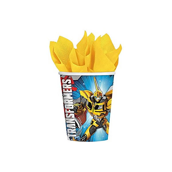 TRANSFORMERS - CUPS PACK OF 8