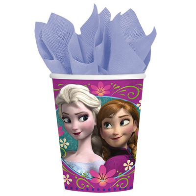 DISNEY FROZEN CUPS PACK OF 8
