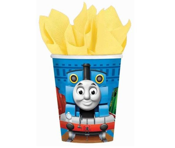 THOMAS THE TANK CUPS PACK OF 8